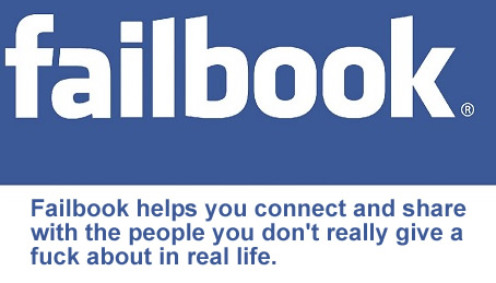 What the Facebook logo should really say.