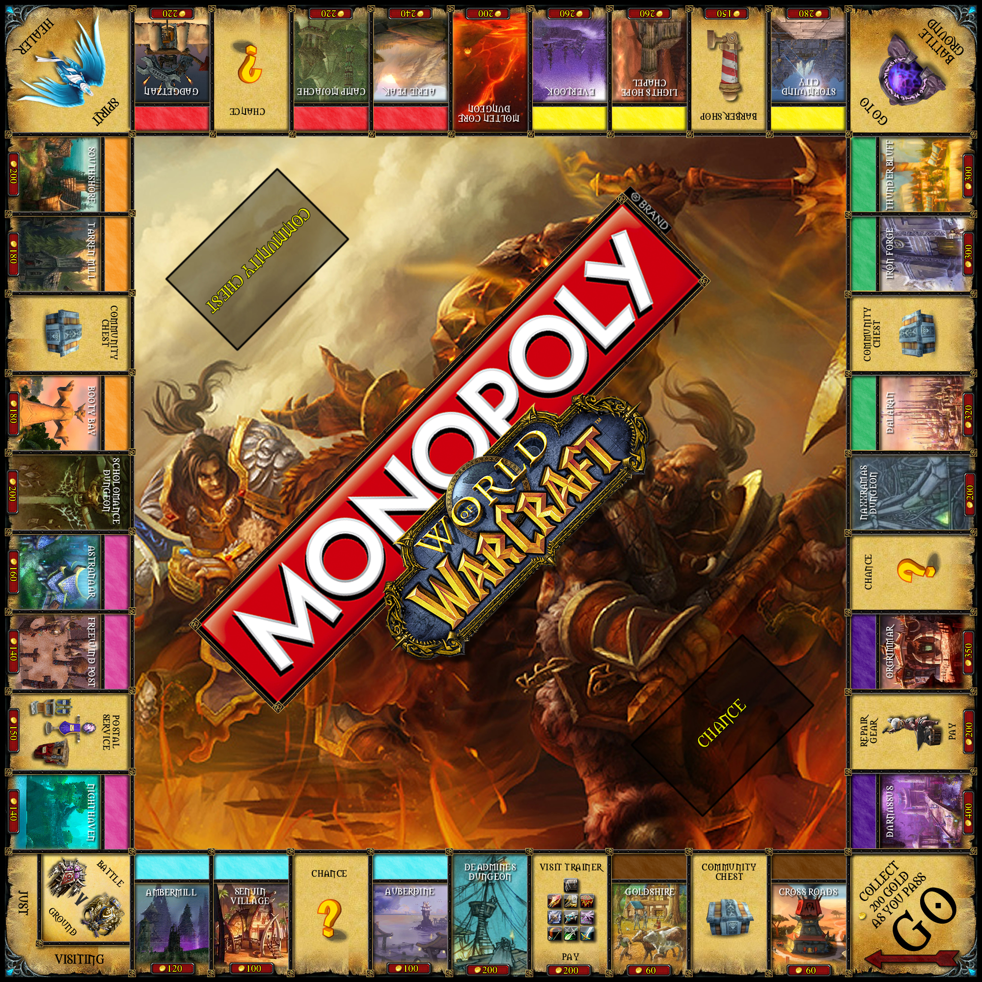 world of warcraft monopoly dave farmer. Black Bedroom Furniture Sets. Home Design Ideas