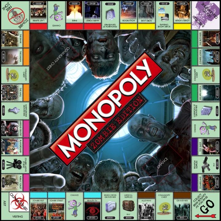 Monopoly Zombie Edition
