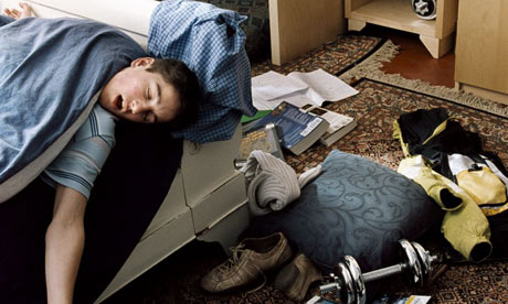 Teen Sleep Getting 21