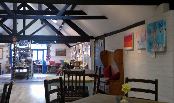 Art Cafe, Glandford, Holt.