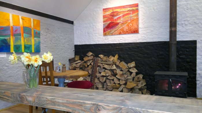 Art Café, Glandford, Holt.