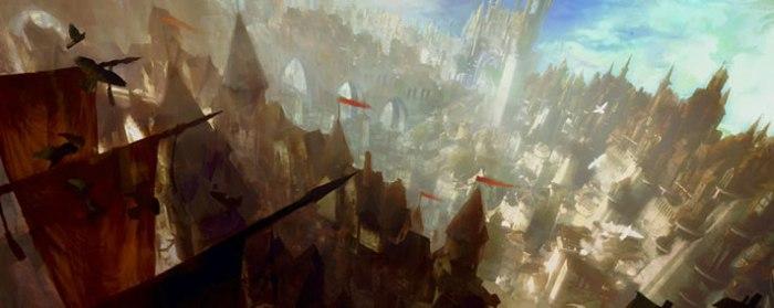 Divinity's Reach - the Human capital city.
