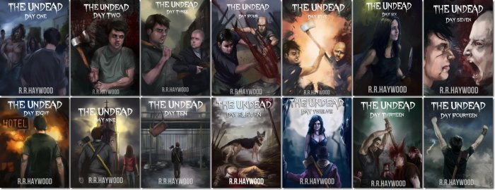 The Undead series by RRHaywood