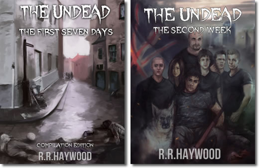 The Undead series by RRHaywood_2 volumes