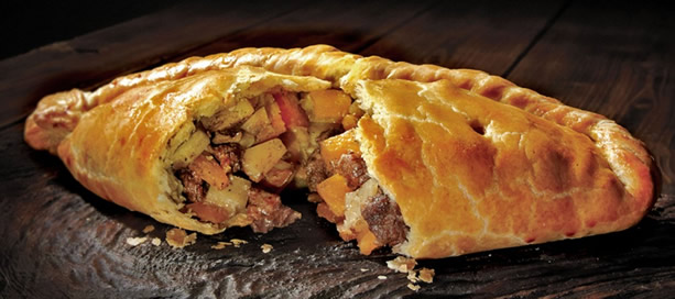 Giving Thanks # 3 & 4 – Sainsbury's Cornish pasty | Dave Farmer