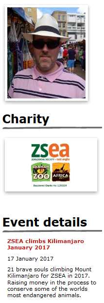 Dave Farmers Virgin Giving Money ZSEA Fundraising Page