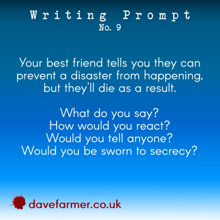 Writing Prompt Wednesday #9