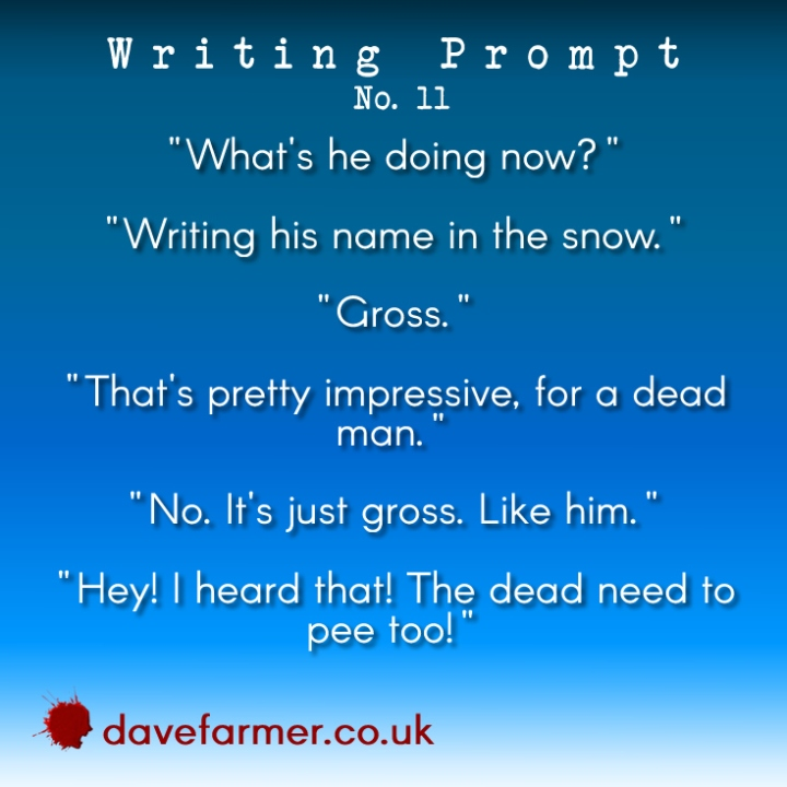 Writing Prompt Friday #11