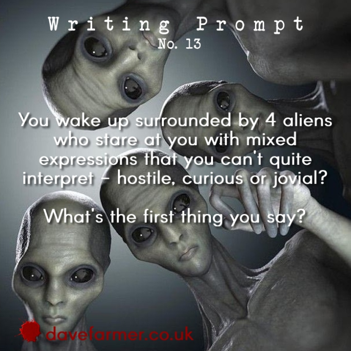 Weekend Writing Prompt #13 & NaNoWriMo Tips!