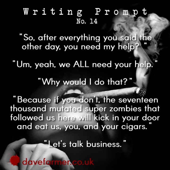 Weekend Writing Prompt #14